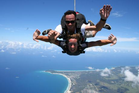 Skydive Byron Bay - 14.0000 ft (4.2km)